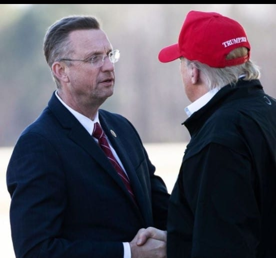 Doug Collins with President Trump